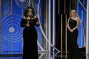 Activism Hits The Red Carpet And Oprah Hits A Home Run At...