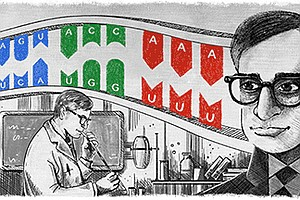 The Man In The Google Doodle: From Poor Villager To Nobel...