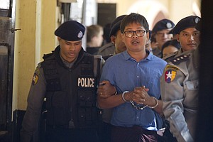 Reuters Reporters Face 14 Years In Prison After Myanmar B...