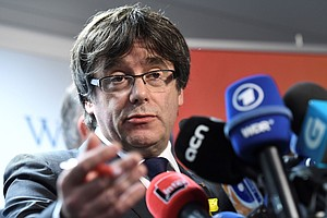 Catalan Separatists Back Puigdemont, Reviving Prospect Of Independence Push