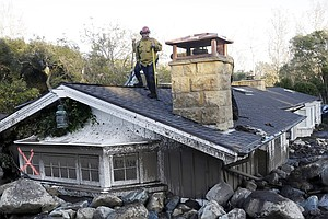 Number Of Missing Falls To 8 In California Mudslide Wreckage