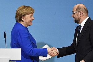 German Leaders Agree On New Coalition Talks, But Hurdles ...