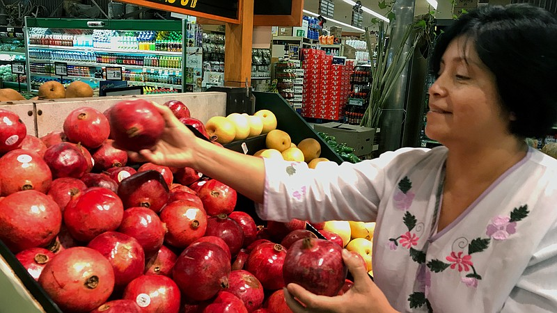 Photo Caption Rebeca Gonzalez Says She Can Now Afford To Buy Pomegranates For Her Family