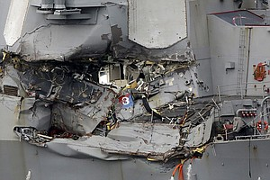 Naval Commanders In 2 Deadly Ship Collisions To Be Charge...