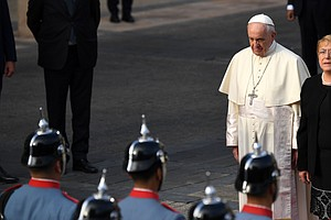 On Visit To Chile, Pope Asks For Forgiveness Over Sex-Abu...
