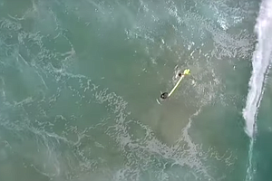 Drone Used To Save 2 Teens Caught In Dangerous Australian...