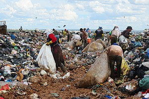 As A Massive Garbage Dump Closes In Brazil, Trash-Pickers...