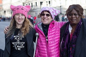 Women's March On Washington: 'We Are A Part Of America, S...