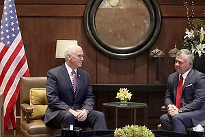 As Pence Tours Mideast, Tension Lingers Over Trump's Jeru...