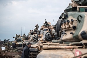 Turkey Launches Offensive On U.S.-Backed Kurdish Militia ...