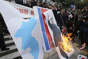 In South Korea, A Backlash Against Olympics Cooperation W...