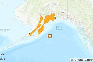 Tsunami Alert Is Downgraded Along Alaska's Coast After Po...