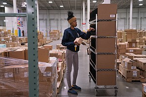 'Don't Think A Robot Could Do This': Warehouse Workers Ar...