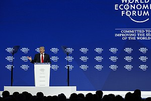 Trump To Davos: 'America Is Open For Business'