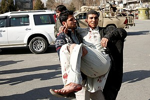95 Killed, More Than 150 Wounded In Taliban Car Bombing I...