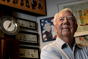 Mort Walker, The Man Behind 'Beetle Bailey' Comic Strip, ...