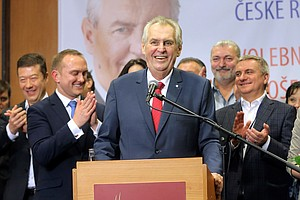 Pro-Russian Czech President Milos Zeman Wins Second Term