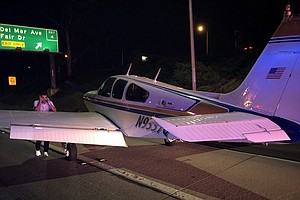 'Experienced Pilot' Makes Emergency Landing On Freeway