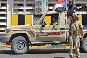 Yemen Prime Minister Holed Up As Separatists Seize Most O...
