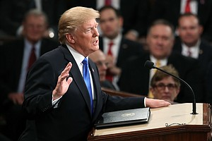 Trump Makes Bipartisan Pitch In First State Of The Union,...