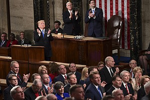 Trump's Big Speech: More Pep Rally Than Bipartisan Breakt...