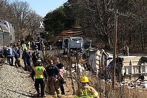 Train Carrying GOP Lawmakers Hits Garbage Truck In Virginia