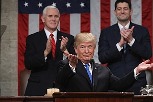 Trump Claims His SOTU Had The Highest Ratings In History....