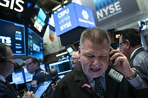 Dow Drops 666 Points In Sharp Sell-Off