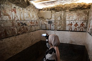 Egyptian Archaeologists Unearth A 4,400-Year-Old Tomb