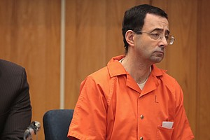 Larry Nassar Sentenced To Up To 125 Years Additional Pris...