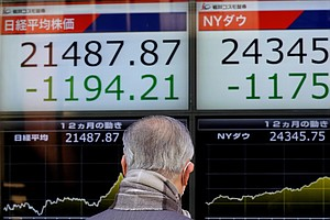 Asian, European Markets Follow Wall Street, With Stocks S...