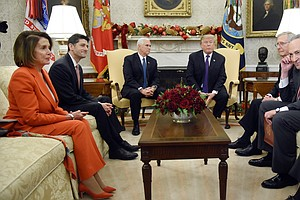 Trump Says 'I'd Love To See A Shutdown' As Senators Race ...