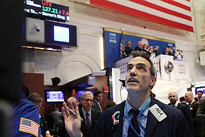 Wall Street Roller Coaster: Dow Jumps Higher After Plungi...