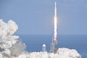 WATCH: SpaceX Successfully Launches Most Powerful Rocket ...