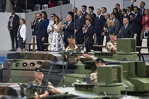 Trump Wants Pentagon To Stage Military Parade Down Pennsy...