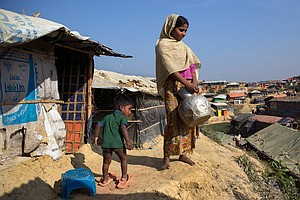 A Young Rohingya Mom: Pregnant, Stateless, Living In Limbo