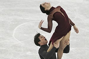 Canadian Ice Dancers Step Down The Heat To Step Up At The...