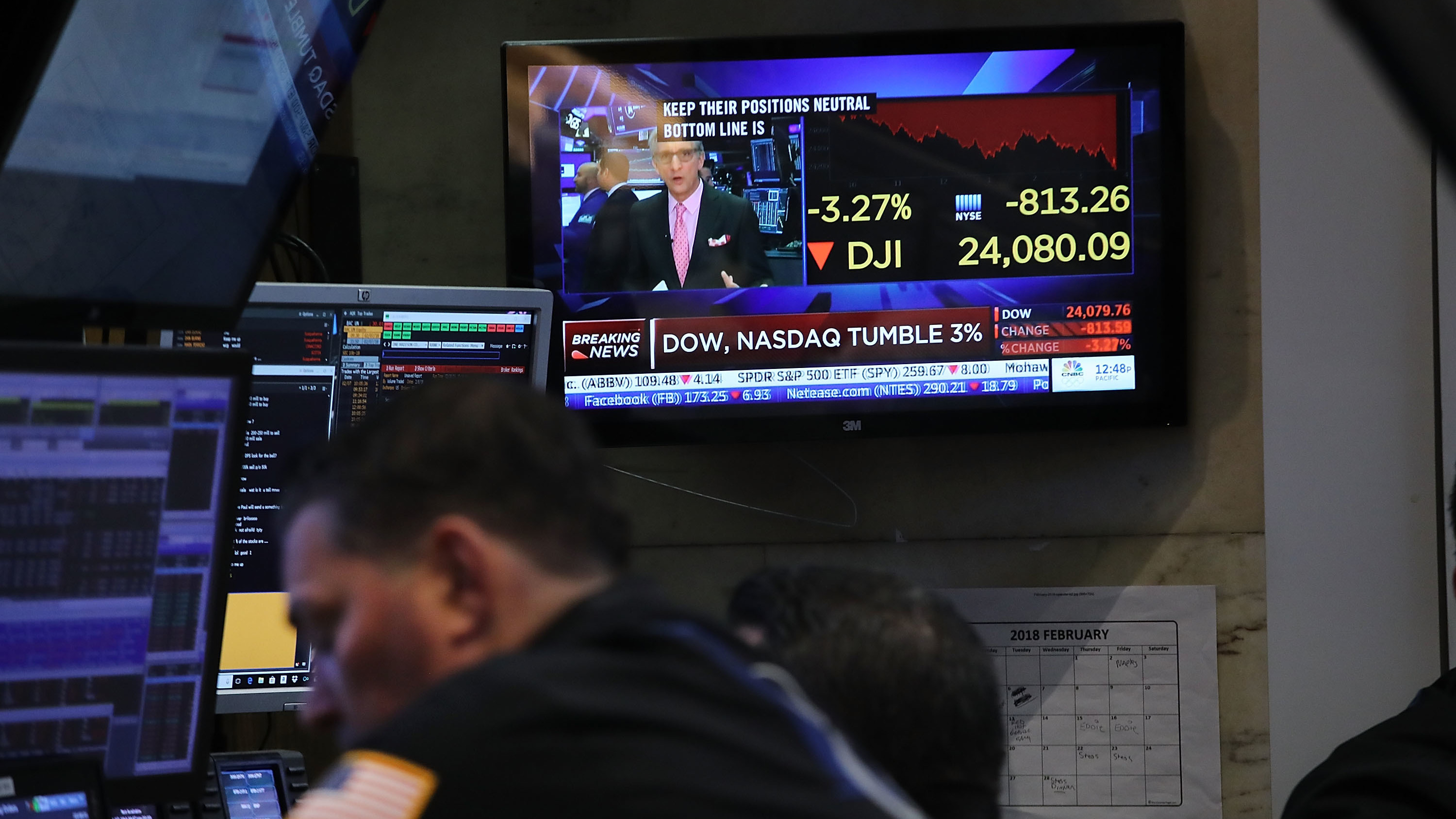 Stock Market Swings May Rock More Minds Than Wallets | KPBS