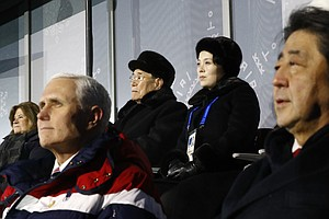 Amid Olympic Détente, Pence Snubs North Koreans In Visit ...