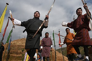 Bhutan's Alcohol-Fueled Archery: It's Nothing Like The Ol...