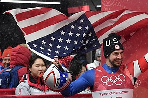 Chris Mazdzer Slides Into History As First U.S. Man To Me...