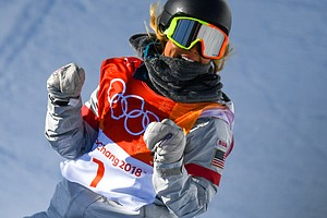 Chloe Kim Wins Gold In Olympic Snowboarding's Half-Pipe