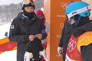 Finland Takes Olympic Chill To The Next Level: Team Knitting