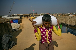 Kites, Prayers, A Snake Show: Reporting From The Rohingya...
