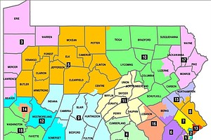 In Pennsylvania, New Court-Drawn Voting Map Could Shift A...
