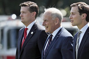 Chief Of Staff Kelly Wants New White House Security Clear...