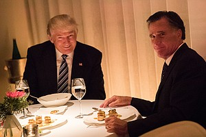 Mitt Romney Takes Veiled Swipes At Trump in Senate Run An...