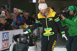 On Eve Of Olympics Debut, Jamaican Women's Bobsled Team L...