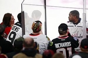Chicago Fans Bounced For Racist Taunts Aimed At Capitals'...