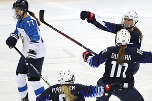 U.S. Women's Hockey Team Reaches Gold Medal Game At Winte...